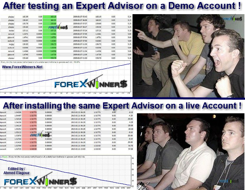 Funny Forex Expert Advisors On Real Accounts Forex Swing Trading