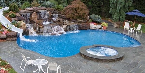 Types Of Swimming Pools Small Swimming Pools Residential Pool Swimming Pool Designs