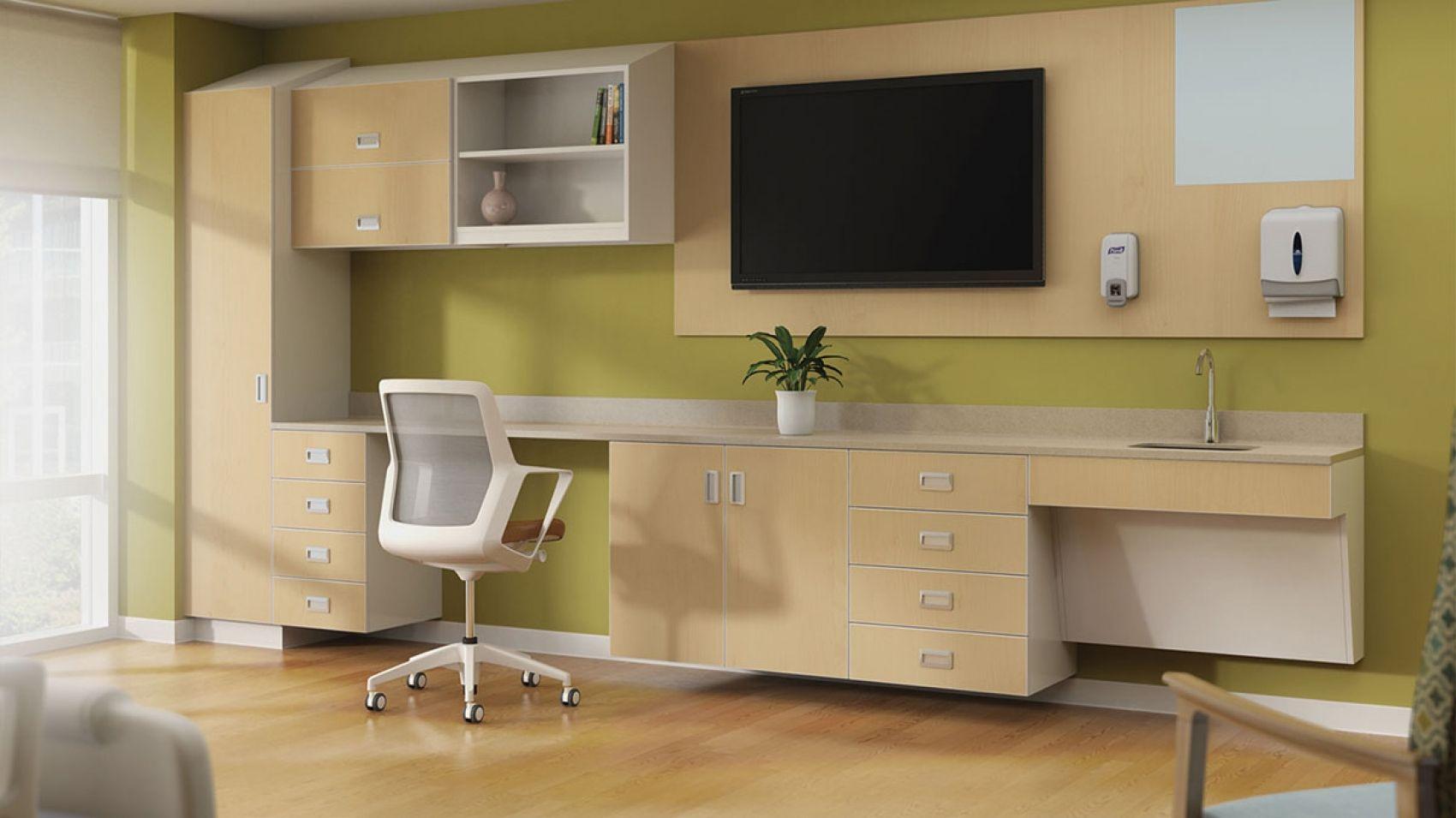 mile marker healthcare design office desk workstation on smart corner home office ideas id=34199