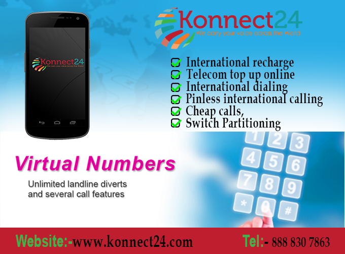 pinless international #calling at cheap rates of Konnect24 #mobile