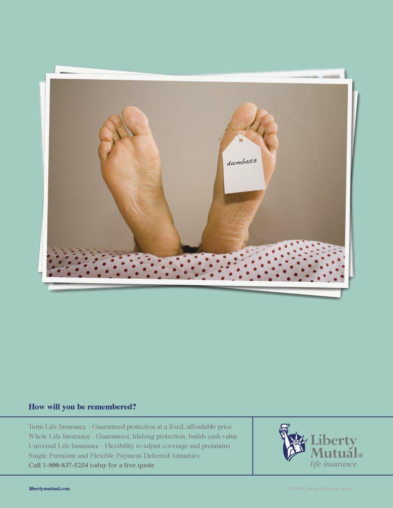 Liberty Mutual Print Ad | Universal life insurance, Print ...