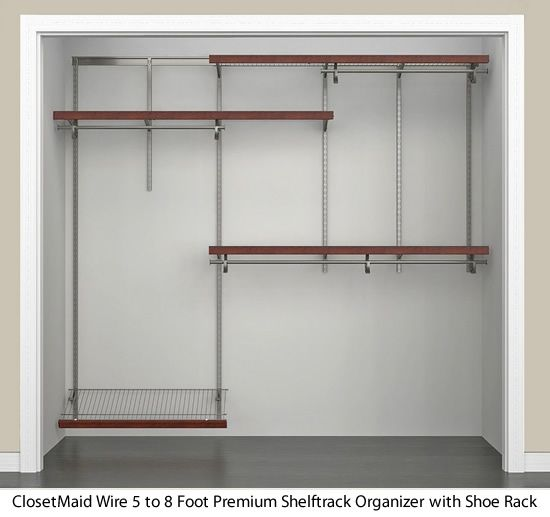 Closetmaid Wire Closet Organizer Kit