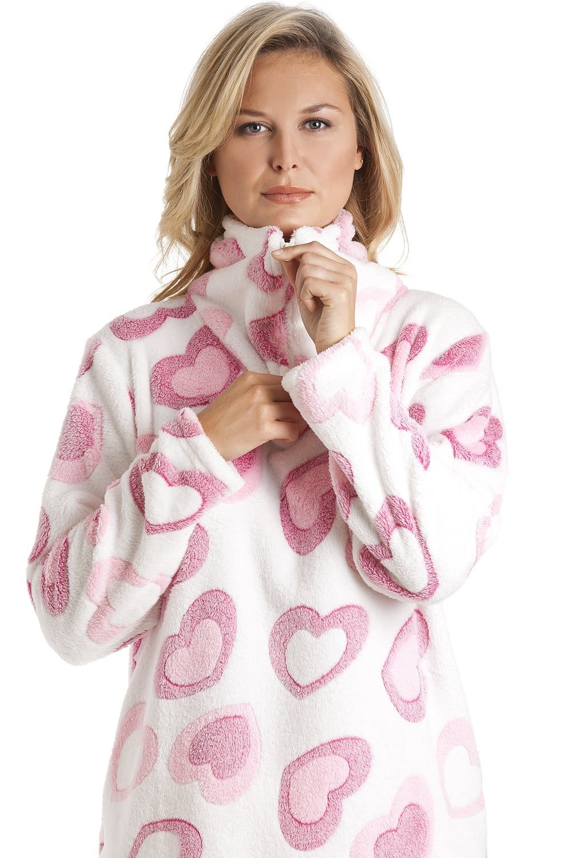 Camille Womens Nightwear Luxury Supersoft Grey Snow Leopard Print Pyjama Set