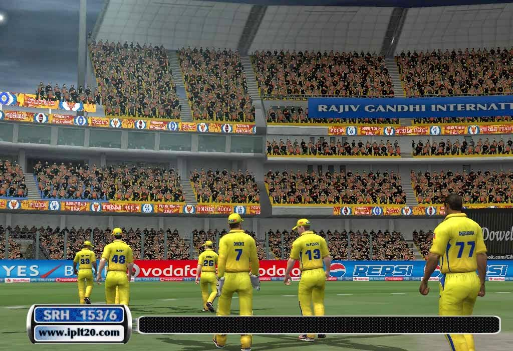 Ipl6 Cricket Patch 2013 Over View With New Kits And Crowed Cricket Ipl Patches
