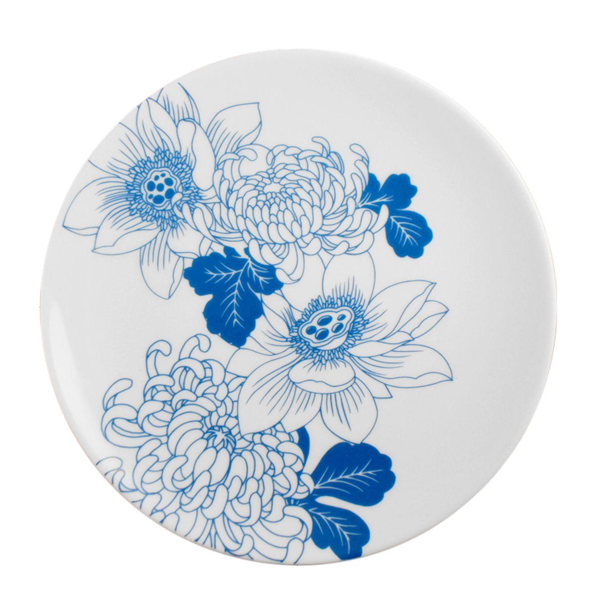 Tattoo Lotus Side Plate  by InkDish