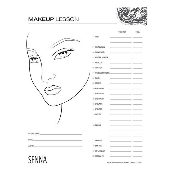 Make Up Face Sheet Antaexpocoaching