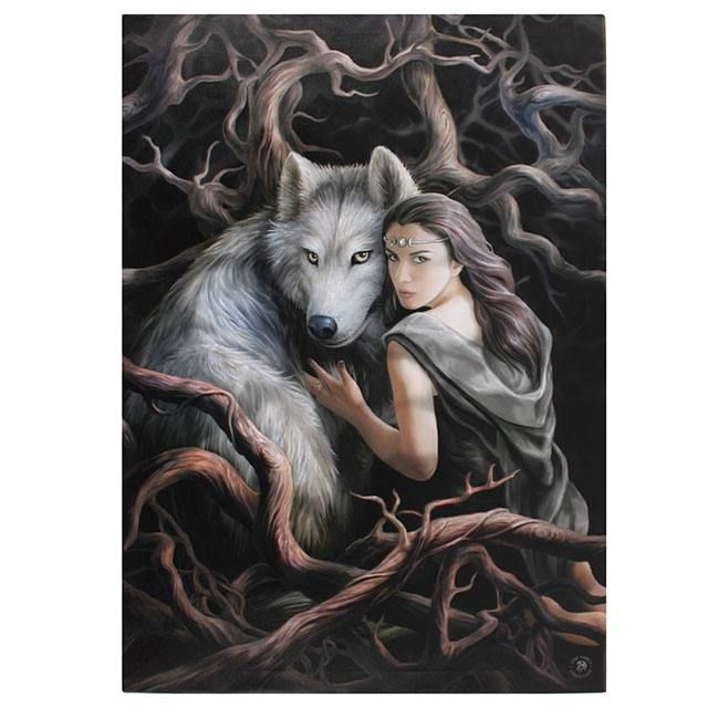 Photo of Large Soul Bond wall 70 x 50 cm – Anne Stokes