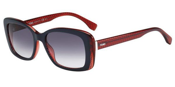 a13ab49671a Buy Fendi FF 0002 S 7PP 9C sunglasses in Red online today from  SmartBuyGlasses. Great prices