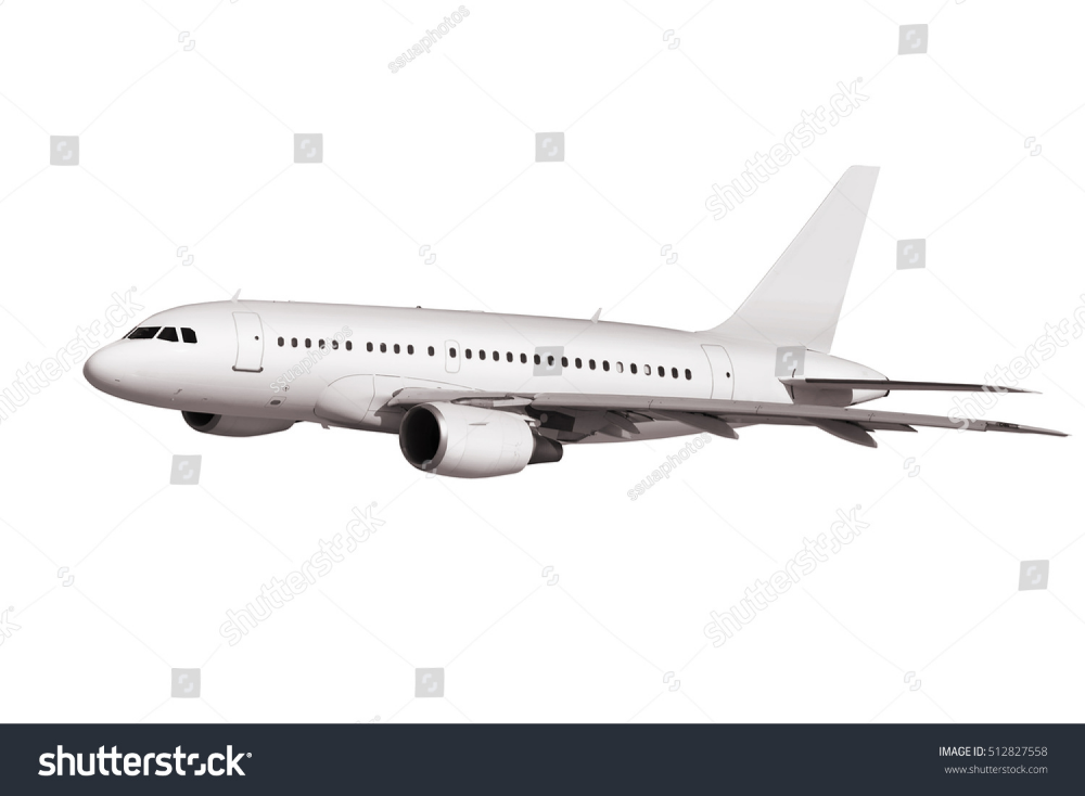 Commercial Airplane Isolated On White Background Royalty Free Images Stock Photography Ssuaphoto Stock Photography Royalty Free Images Stock Images Free