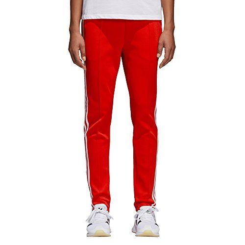 adidas SST TP - Bas de Survêtement - Femme - Multicolore (Rosso) - Taille   42 e3ac41e3154
