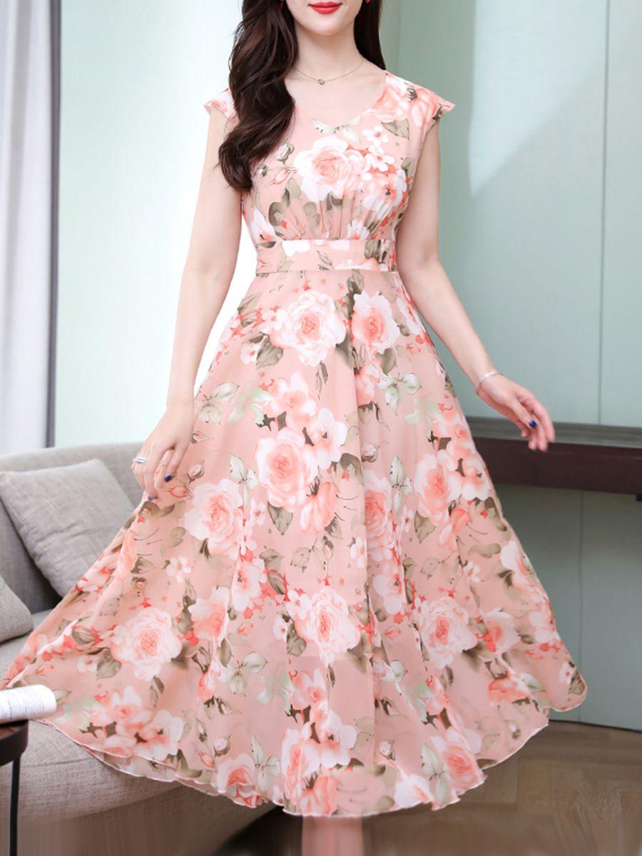 e7722d0573de5 Sweet Heart Floral Printed Maxi Dress in 2019 | Maxi Dress | Dresses ...