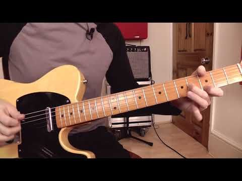 8 Hot Country Open String Scale Licks Guitar Lesson Youtube