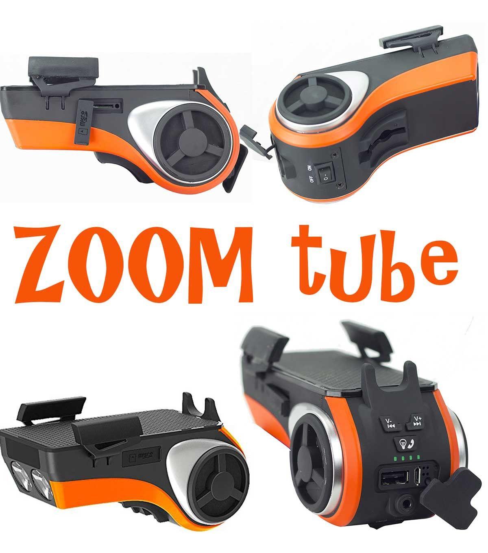 Zoom Tube Is Multifunctional Bike Audio And Lighting