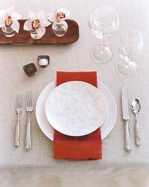 Ideas para decorar una mesa para invitados