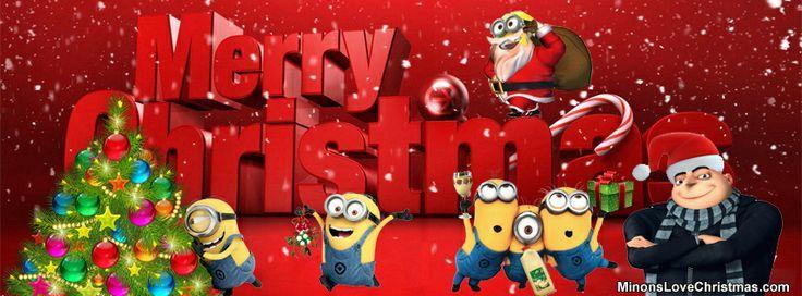 minion christmas wallpaper - | MINION | Pinterest | Fb cover ...