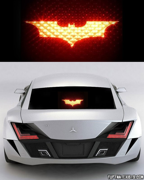I Can T Believe This Exists Dream Cars Light Covers Batman Signal