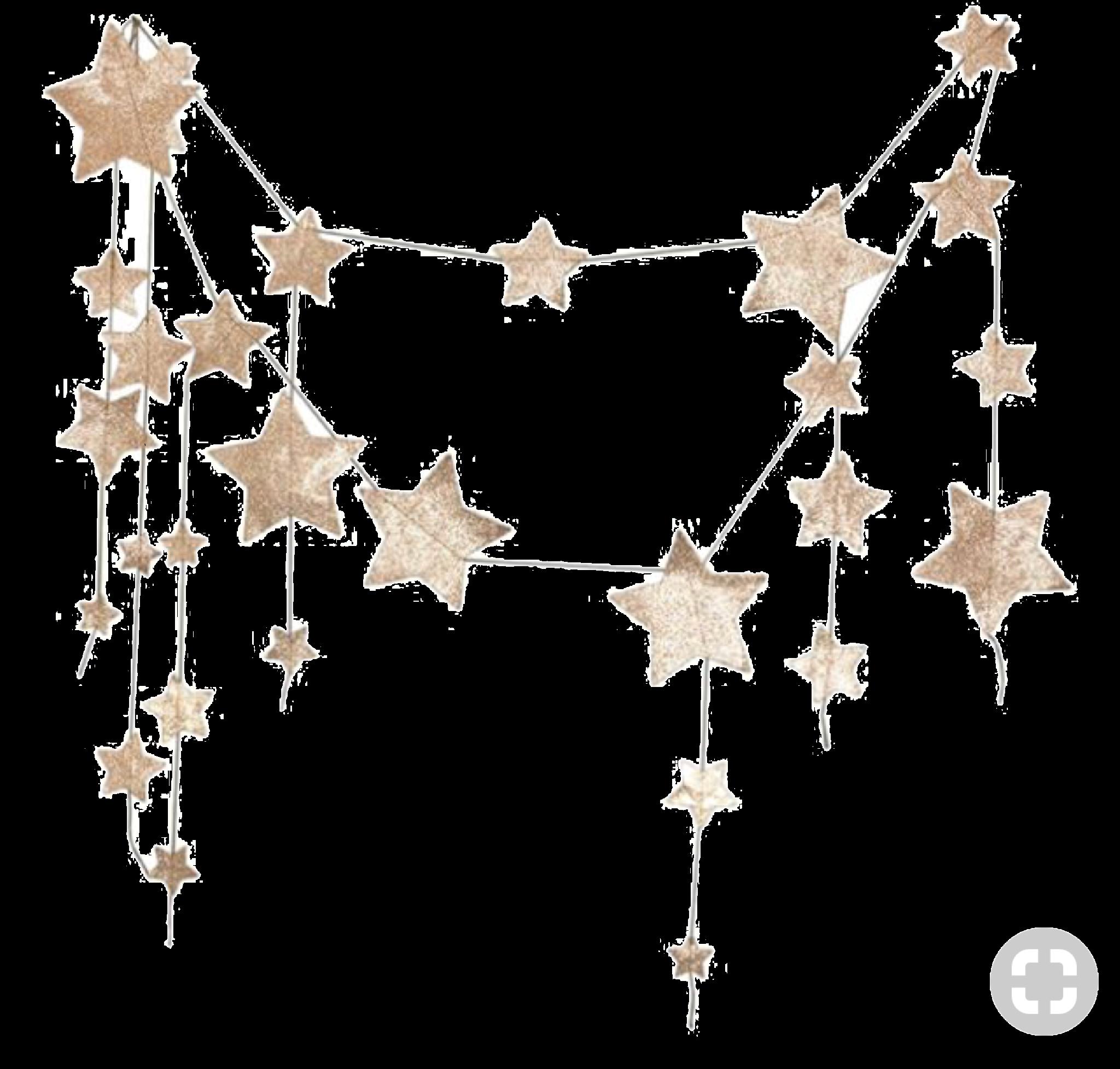 Pin By Lama On Moodboard Png Star Garland Gold Glitter Glitter Stars