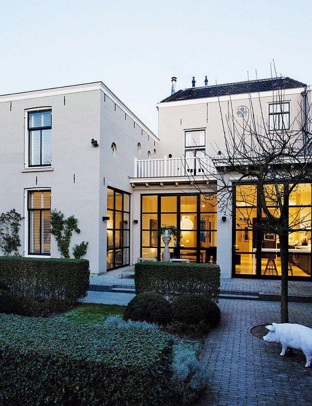 Le style classique hollandais et l\'audace contemporaine sont réunis ...