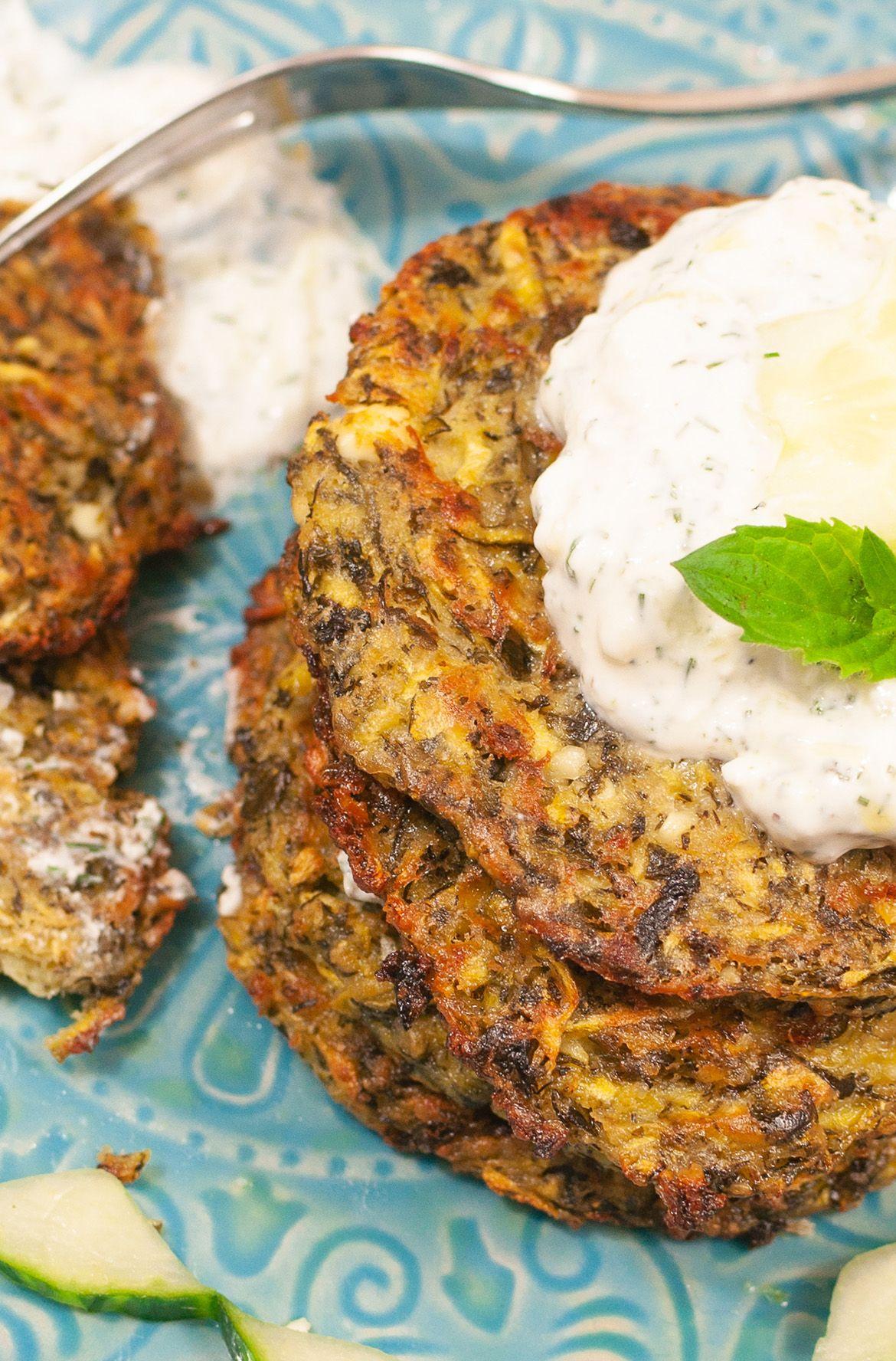 Griechische Zucchinipuffer – zauber dir Urlaub auf den Teller