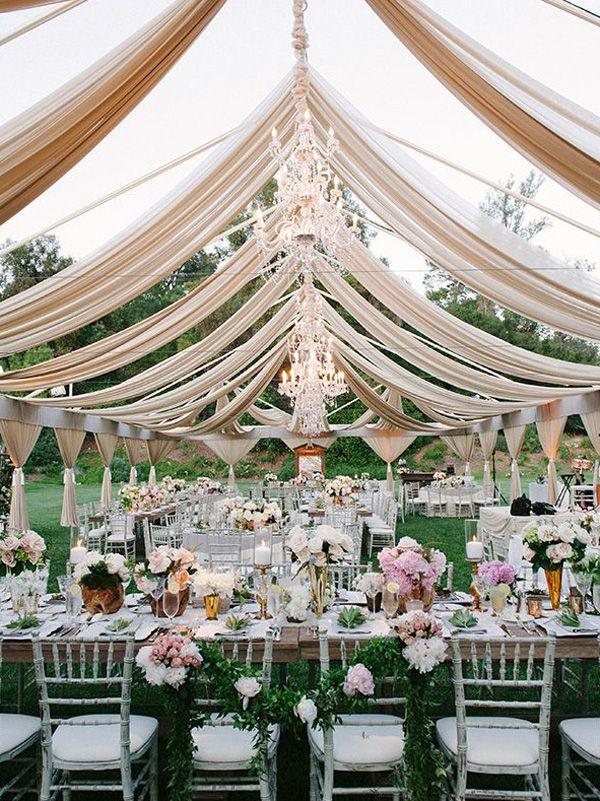 Glamorous clear tent wedding knot blog wedding ideas pinterest glamorous clear tent wedding knot blog tent wedding receptionswedding reception ideasoutdoor junglespirit Gallery