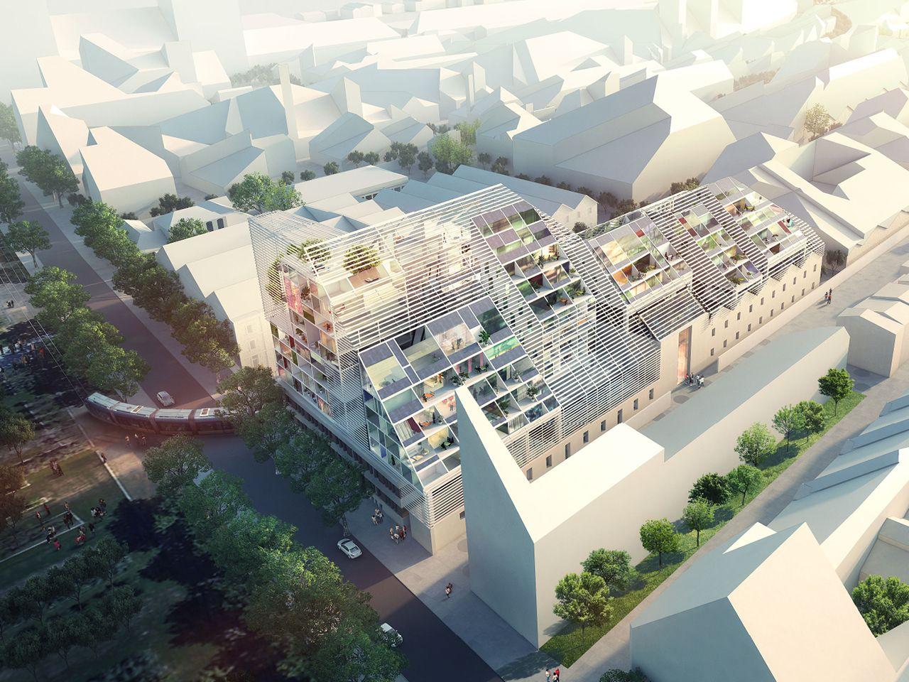 MVRDV - LE GRAND MAGASIN | Architecture Drawings & Presentation ...