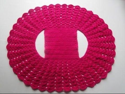 How To Crochet Bolero Shrug Jacket Free Pattern Tutorial Easy