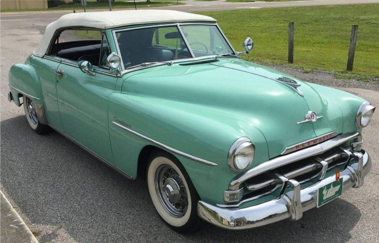 1952 Plymouth Cranbrook Convertible For Sale 1800549 Plymouth Old Classic Cars Plymouth Cars