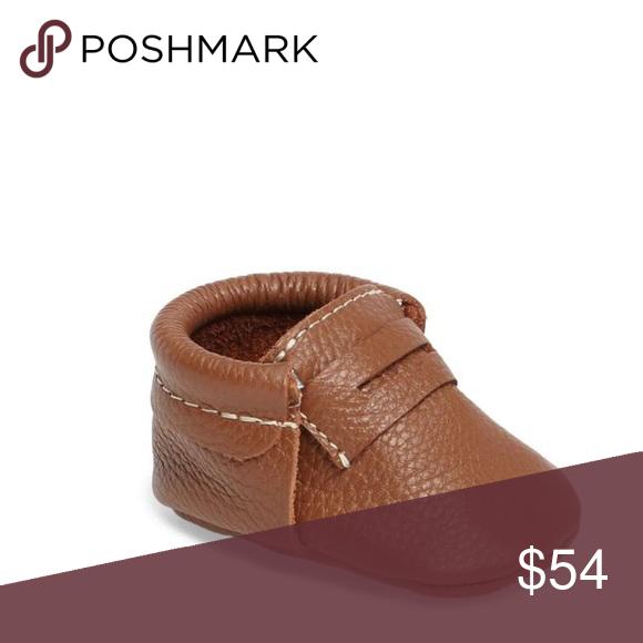 3b82c0585c7 Freshly Picked Penny Loafer Crib Shoe 🆕 Freshly Picked Penny Loafer Crib  Shoe Freshly Picked