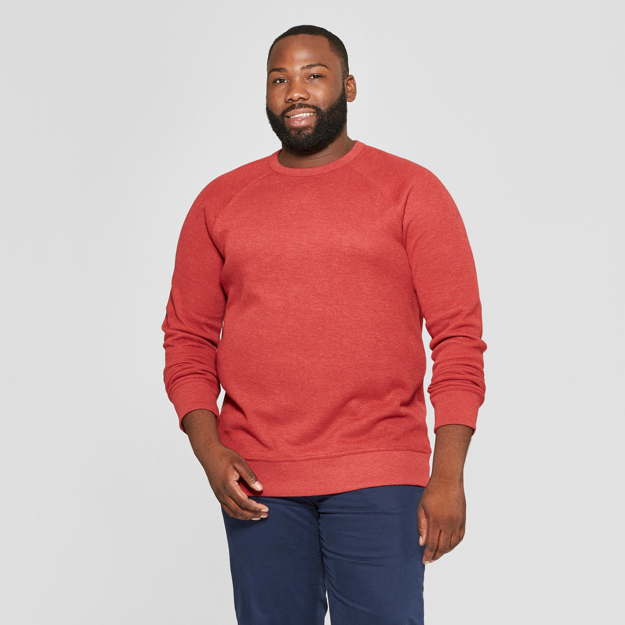 Mens Classic Fit Waffle-Knit Heavy Thermal