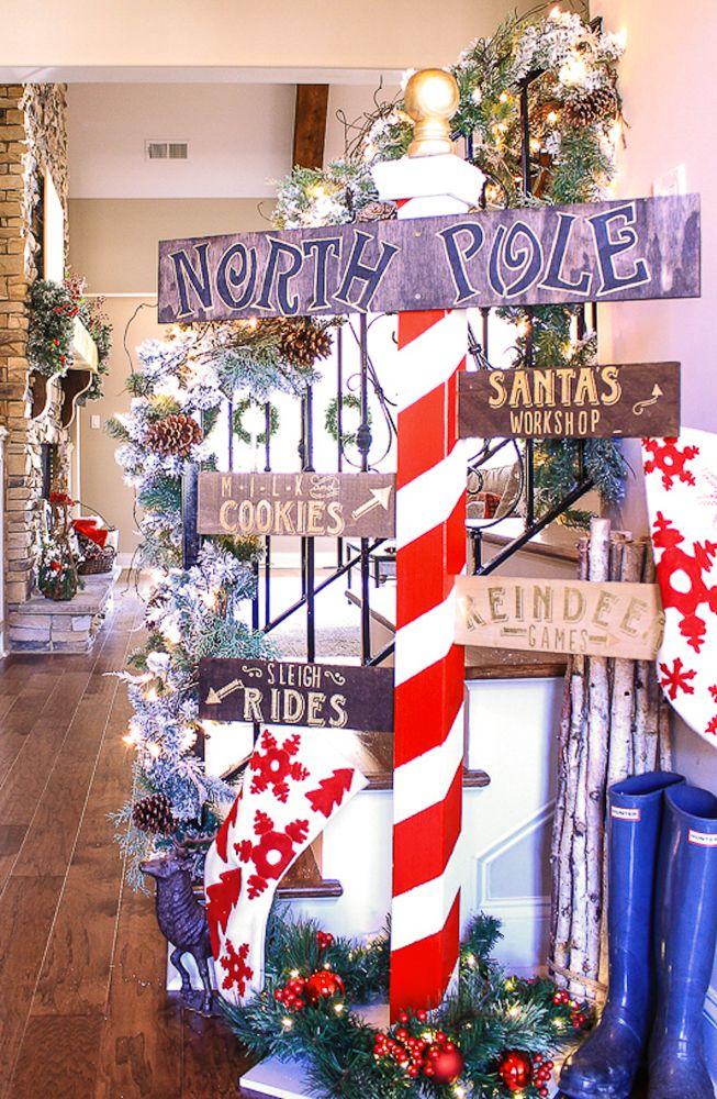 DIY Stocking Holder Diy stocking holder, Christmas