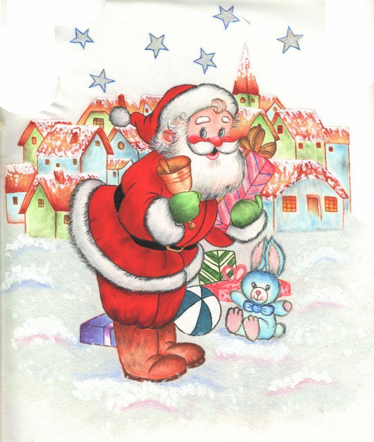 pintura en tela navidad   Pintura en Tela   Pinterest