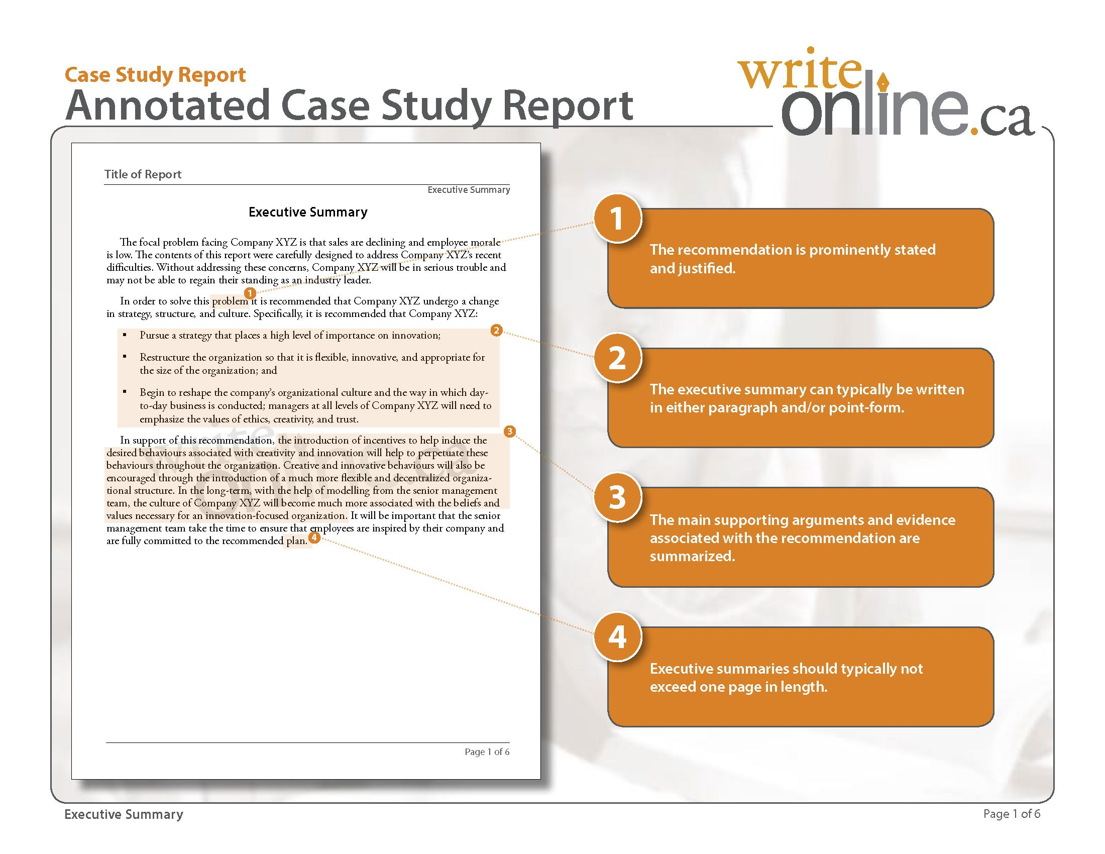 Writing Business Cases Template Report Writing Case Study Template Business Case Template