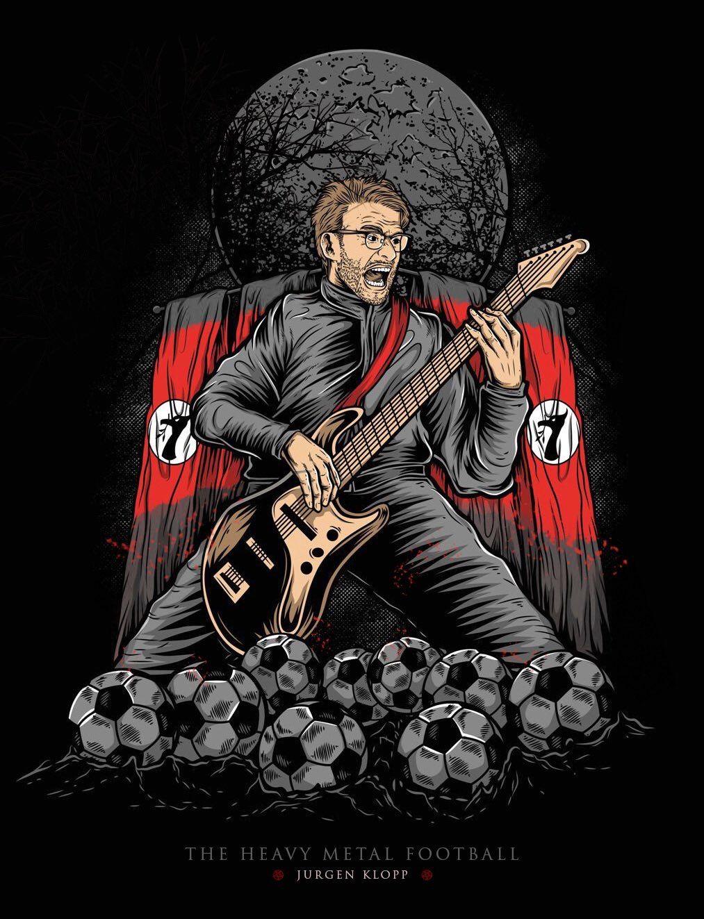 Heavy Metal Football ⚽ ❤️