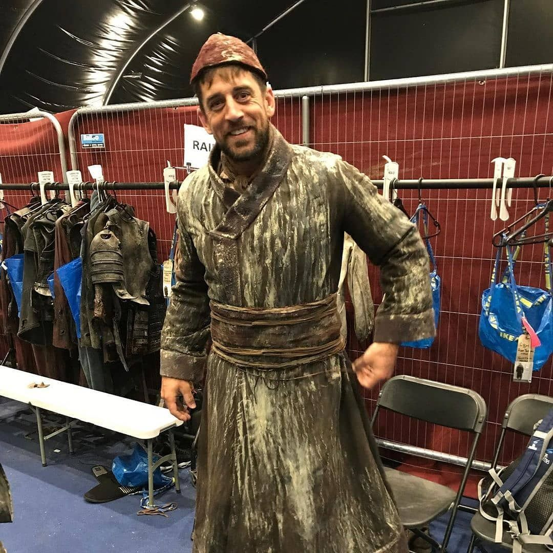 So Aaron Rodgers Had A Cameo In Game Of Thrones Last Night Via Aaronrodgers12 Nfl Aaronrodgers Packers Greenbay With Images Aaron Rodgers Packers Nfc North