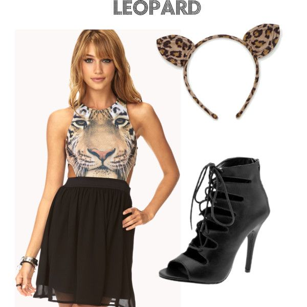 3 Super-Easy Halloween Costume Ideas Leopard Fall Love - halloween ideas for 3