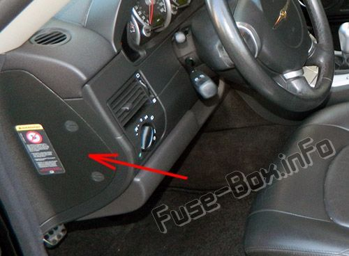 [FPWZ_2684]  The location of the fuses in the passenger compartment: Chrysler Crossfire  | Chrysler crossfire, Fuse box, Chrysler | Chrysler Crossfire Fuse Box Location |  | Pinterest