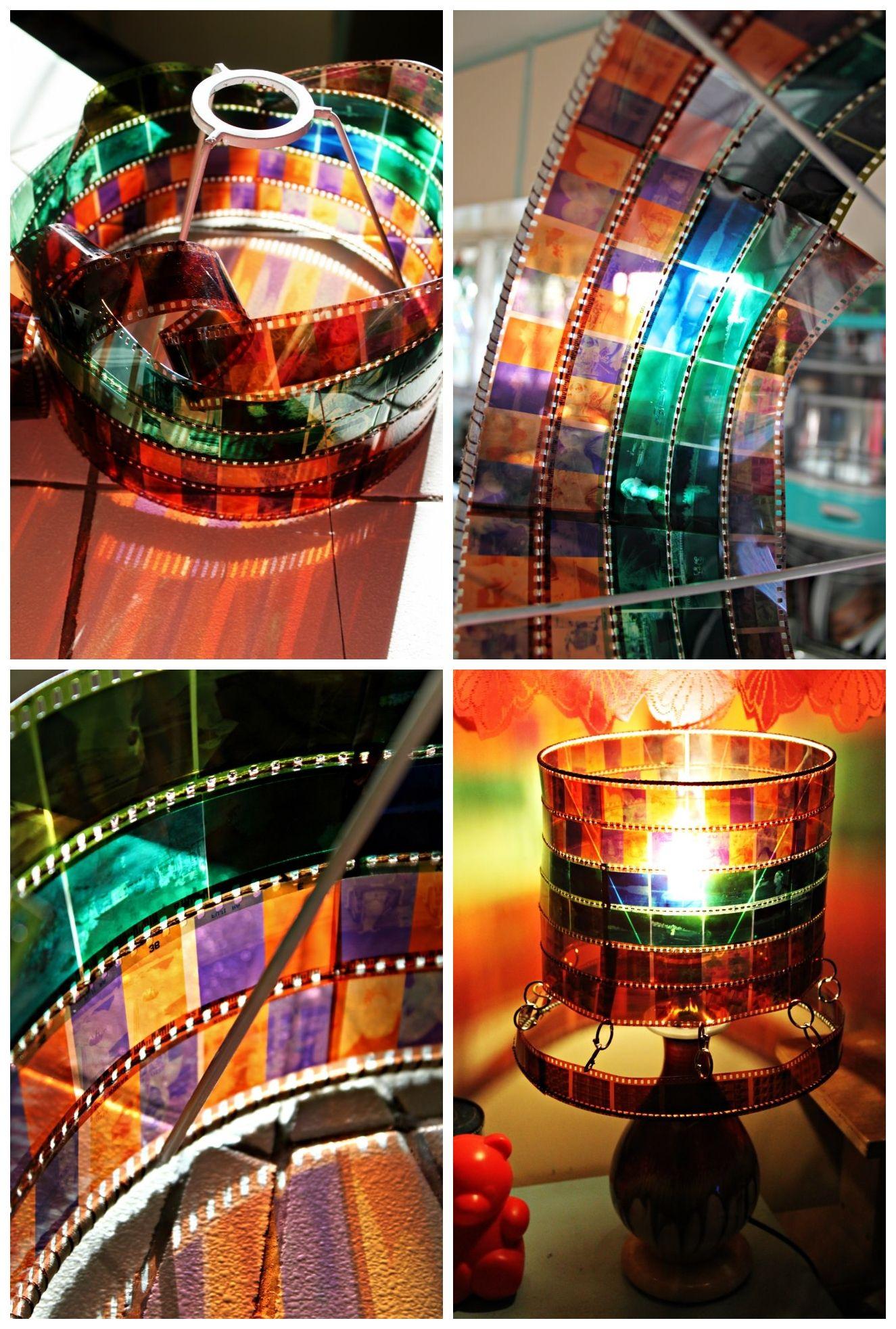 Lamp Shade Made from 35mm Negatives | DIY & Crafts | Pinterest ...