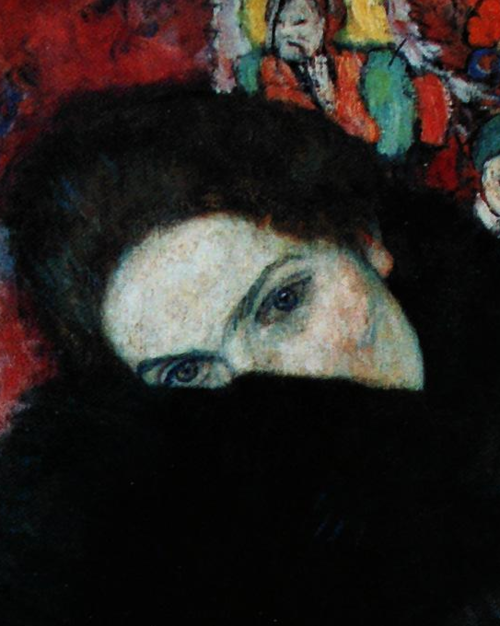 Lady with Muff, by  Klimt