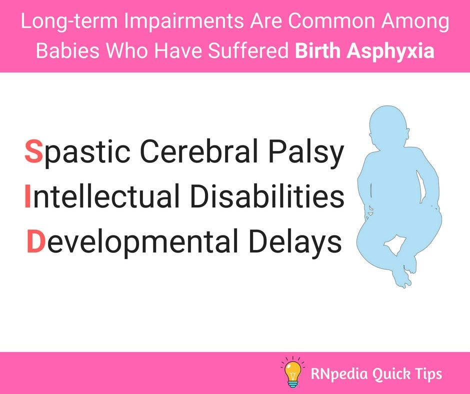 953d366c07d1d Long-term Impairments Are Common Among Babies Who Have Suffered - Nurses  Tips