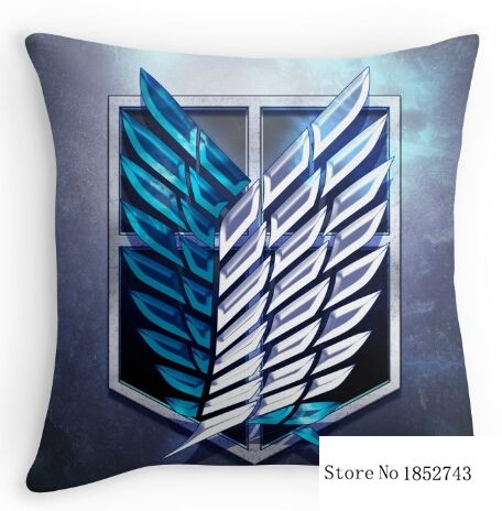 US $17.66 |Funny Survey Corps! printed Pillow Cases for 12x12 14x14 16x16 18x18 20x20 24x24 inch Free Shipping|Pillow Case|   - AliExpress