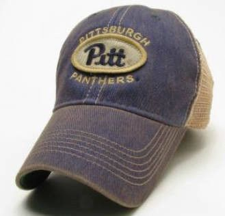 competitive price 27fcb ae350 Pittsburgh Panthers Legacy Old Favorite Trucker Hat