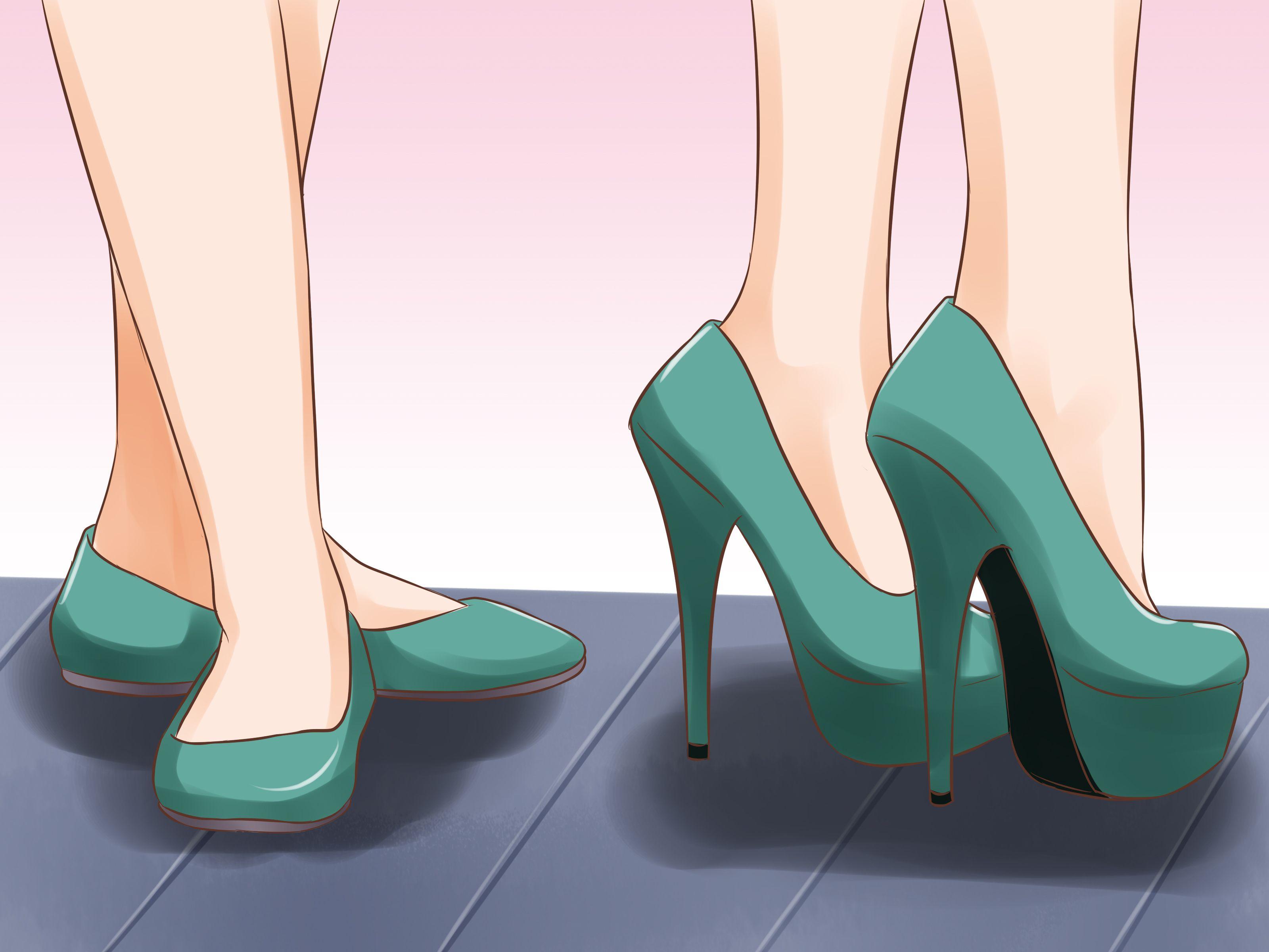 How To Walk In High Heels  Via Wikihow