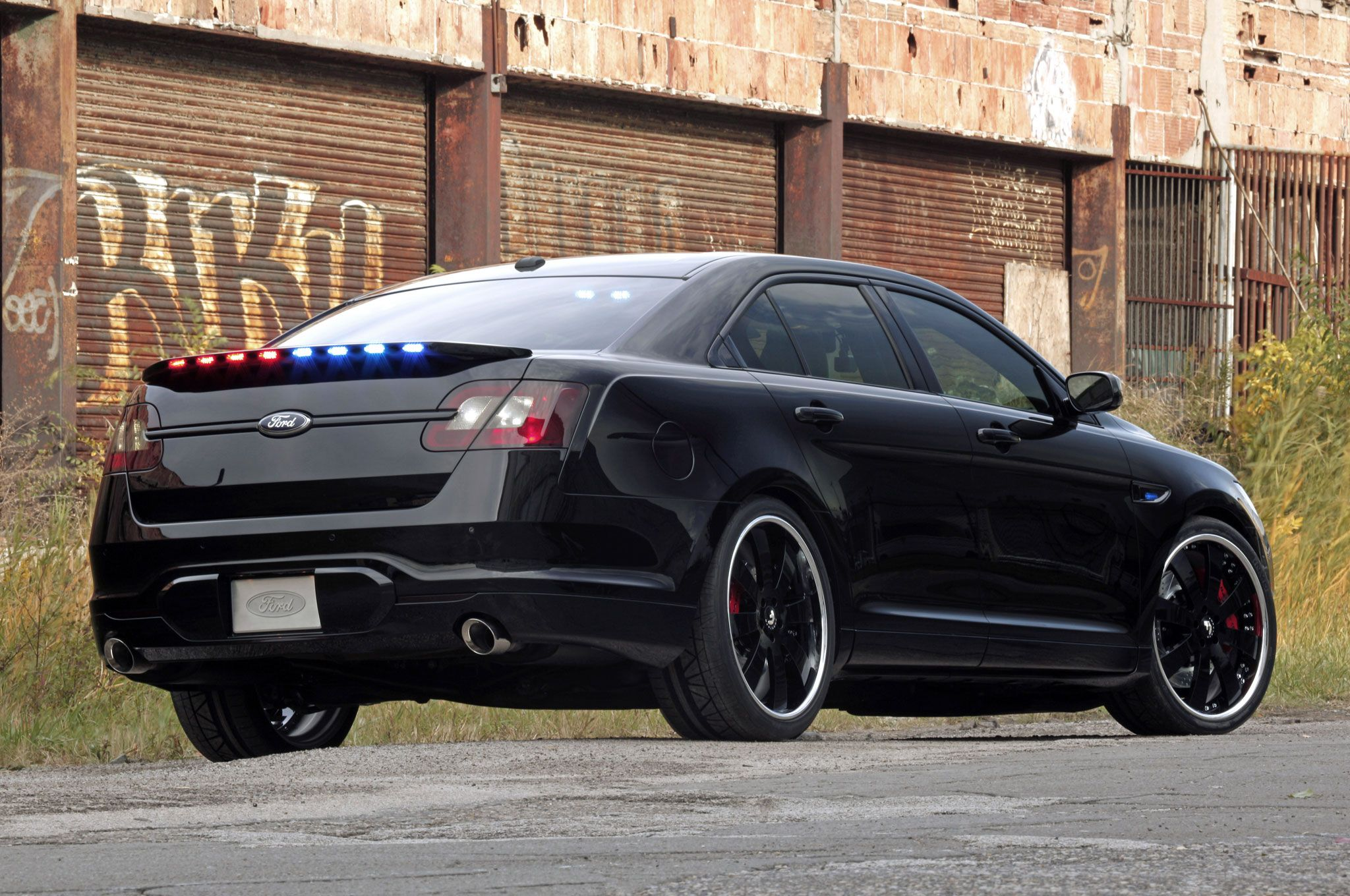 Ford Police Interceptor Stealth Edition Ford Police Undercover
