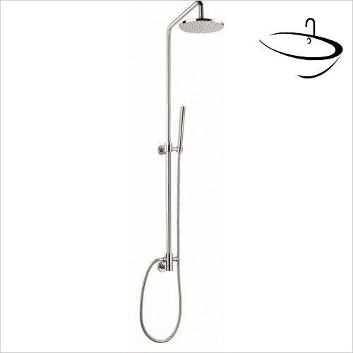 Flova Showers - Levo Conc Inlet Shower Pole With Fix & Adj Shower ...
