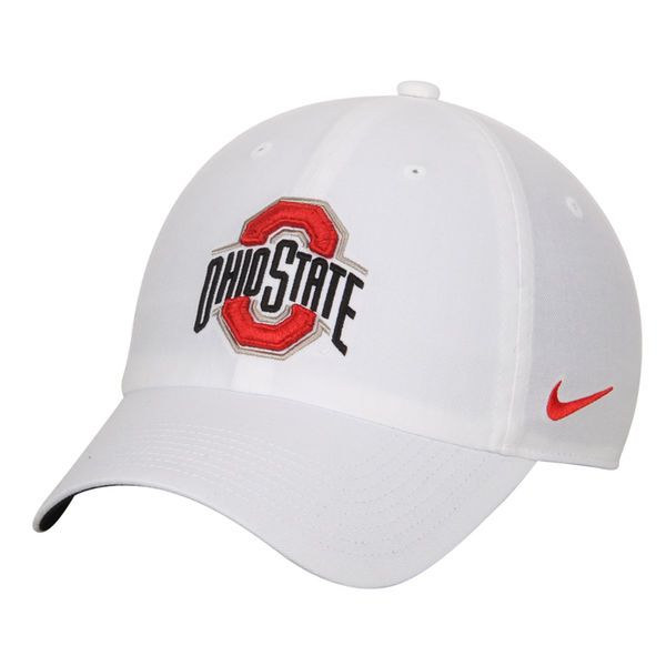 buy popular 5c824 a61ba ... spain ohio state buckeyes nike heritage 86 authentic adjustable  performance hat white 23.99 0dfd4 8d468