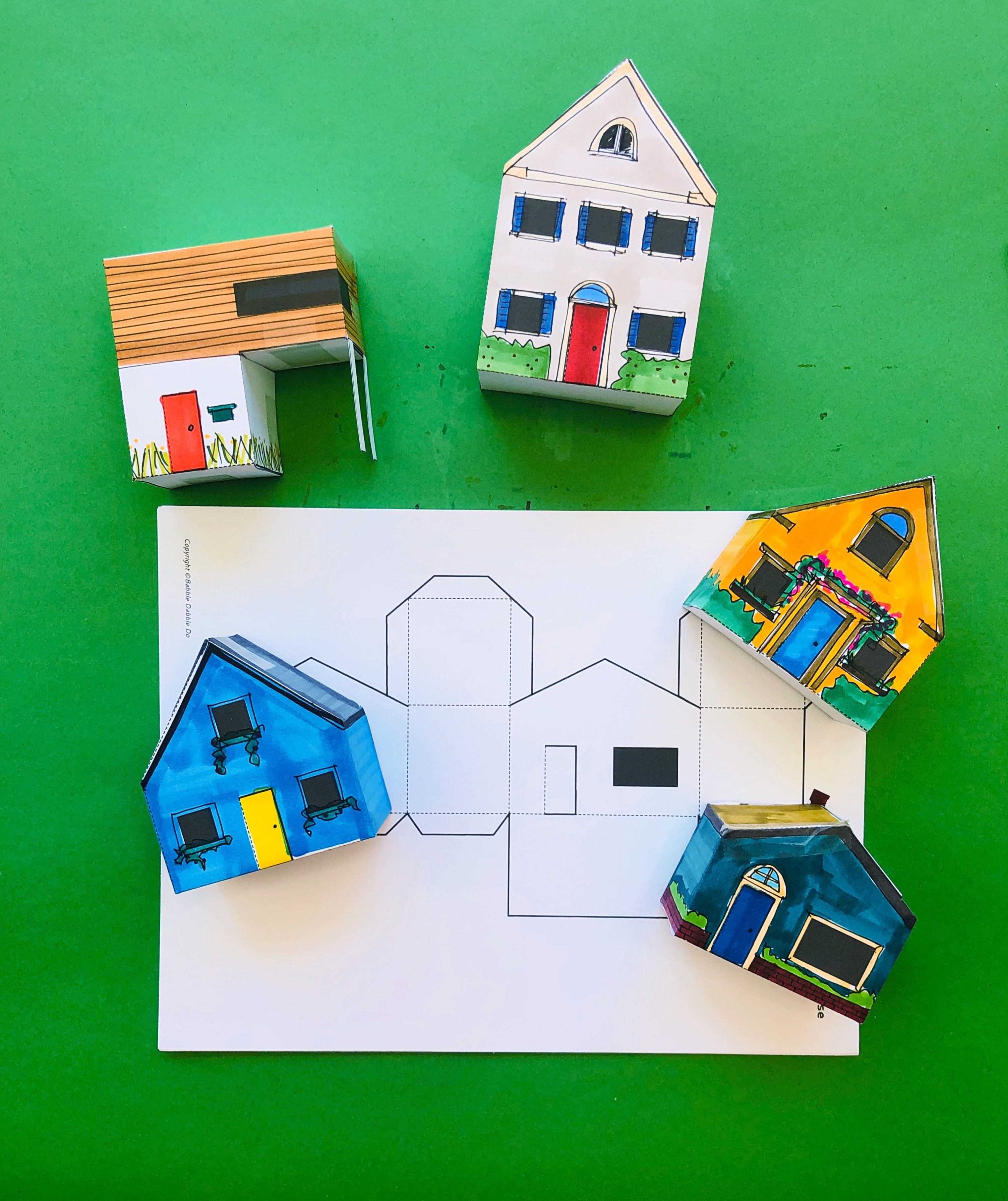 Design for Kids: Paper Houses