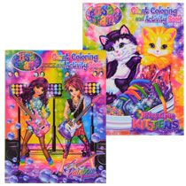 lisa frank giant coloring and activity books - Dollar Tree Coloring Books