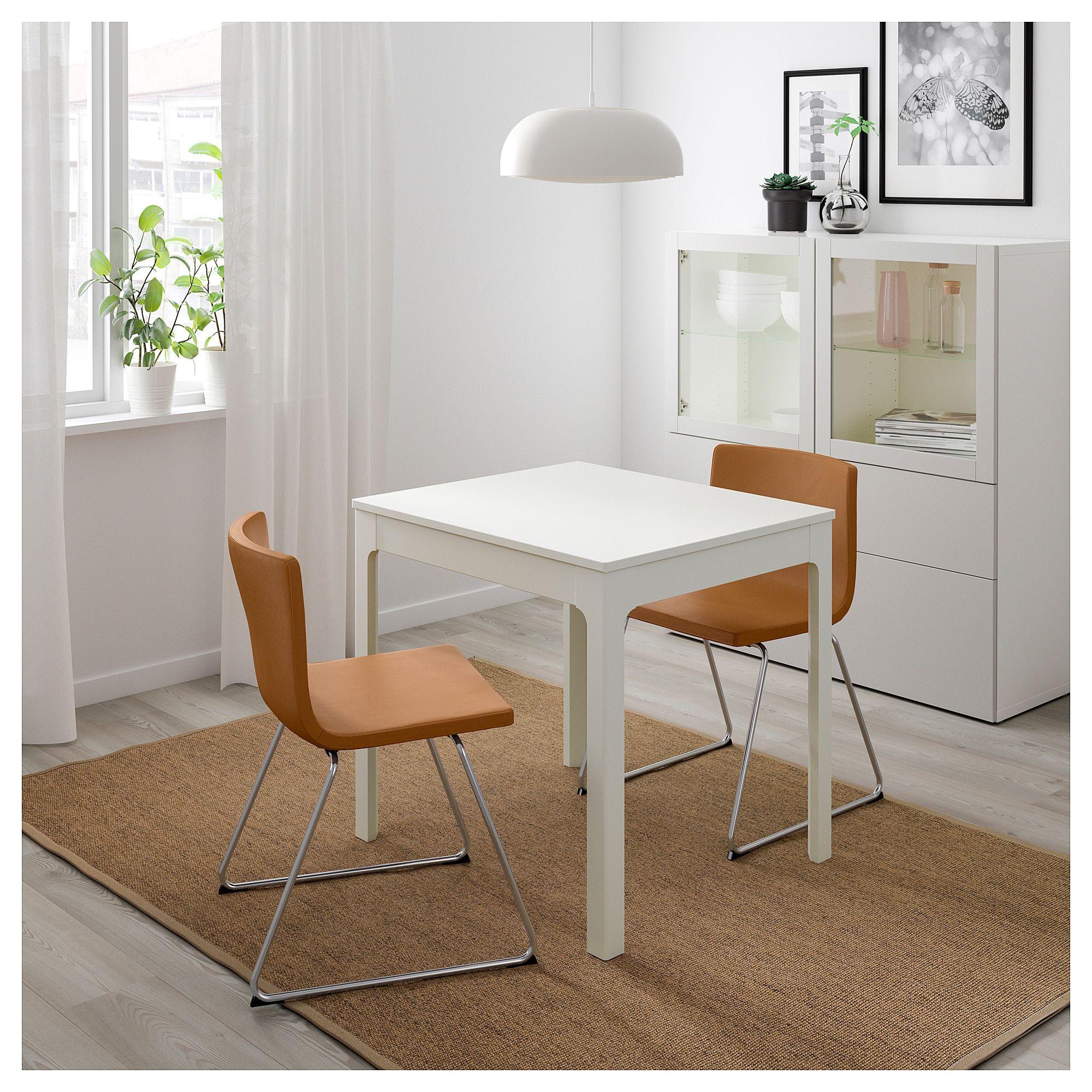 8da858223ba IKEA - EKEDALEN   BERNHARD Table and 2 chairs white