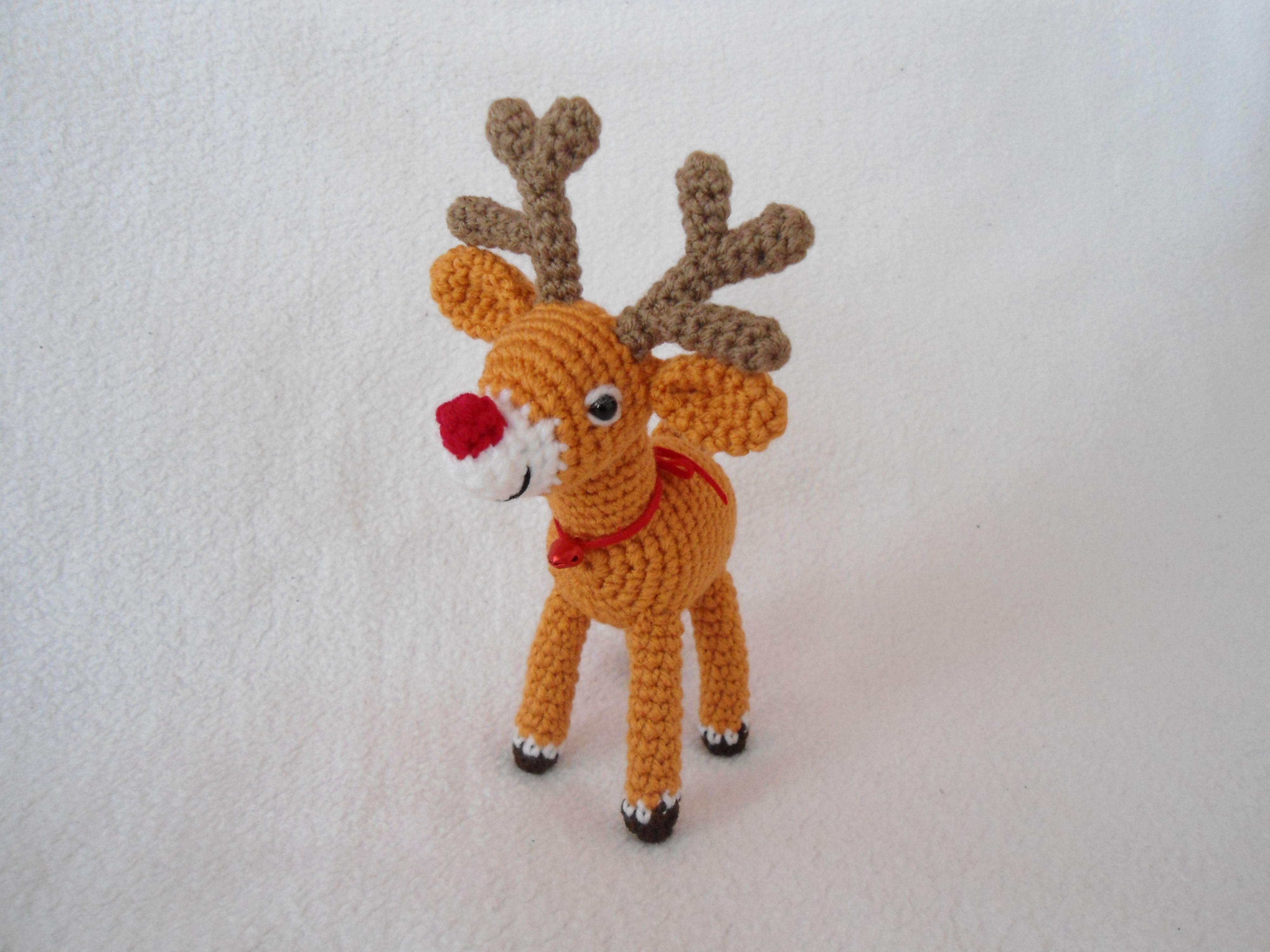 Reindeer crochet pattern knitting and crochet pinterest reindeer crochet pattern bankloansurffo Choice Image