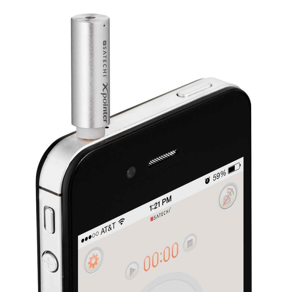 A presenter and laser pointer for iOS Iphone gadgets, Iphone